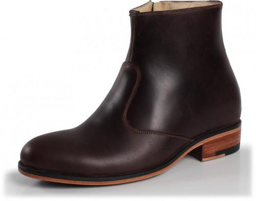 Dark Brown, Leather