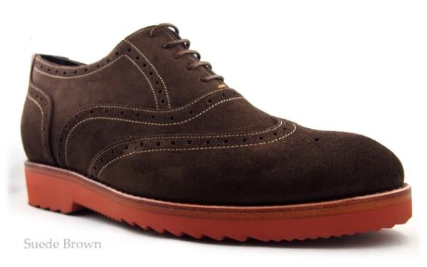 Brown, Suede