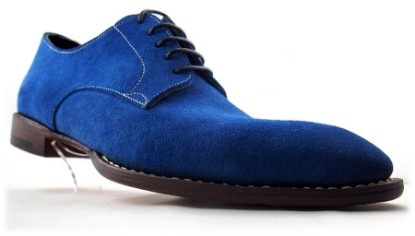 Blue, Suede