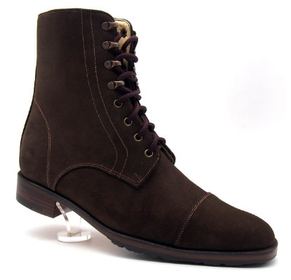 Dark Brown, Suede