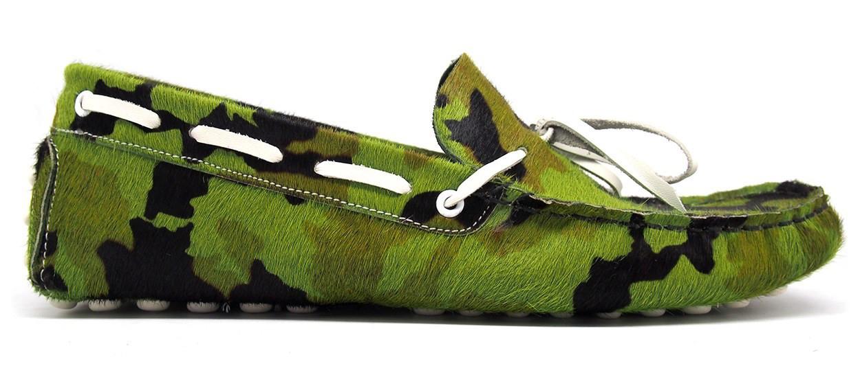 Green, Suede