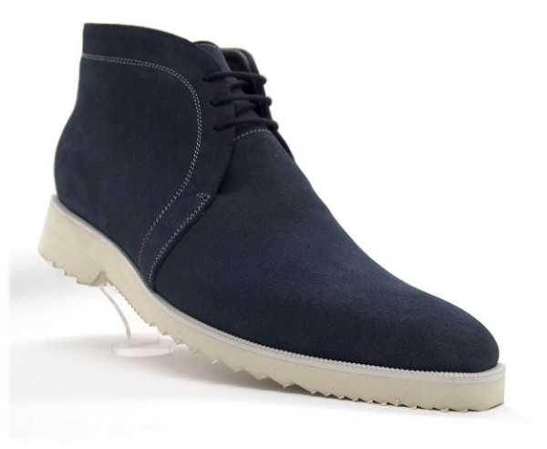 Navy Blue, Suede