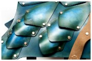 Bild von Patina Leather Dog Armor
