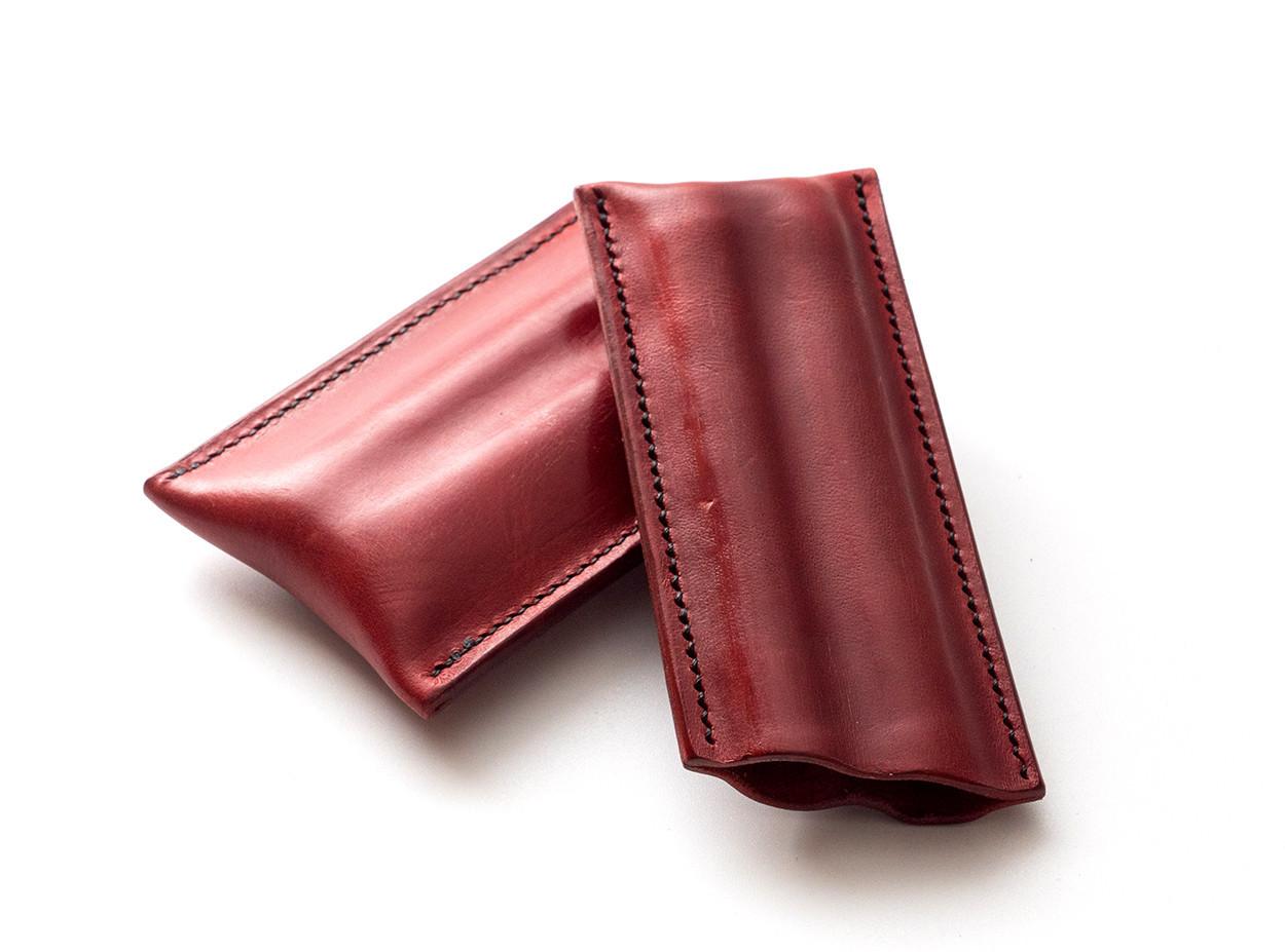 Picture of étui à cigares en cuir 1/1 rouge