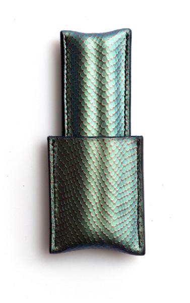 Picture of étui à cigares en cuir 1/1 émeraude