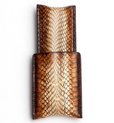 Picture of Leather Cigar Case 1/1 Light lizzard