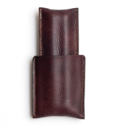Picture of Leather Cigar Case 1/1 Milled Brown