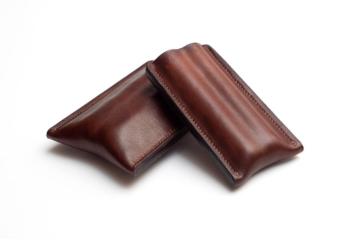 Picture of étui à cigares en cuir 1/1 brun