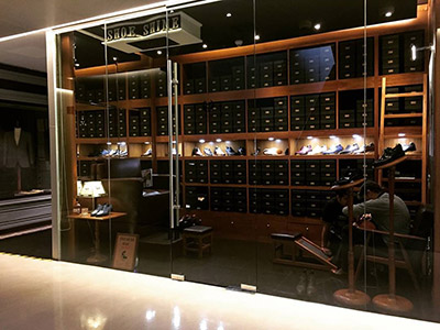 Don's Footwear Showroom located at Ritz-Carlton Residences